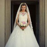 nevěsta, svatební den, svatební šaty