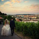 nevěsta a ženich, svatební den