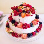 svatební dort, raw dort