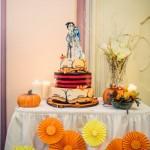 svatební dort, mrtvá nevěsta tima burtona