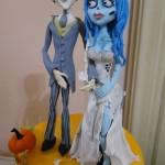 svatební dort mrtvá nevěsta