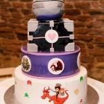 svatební dort, star wars dort