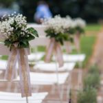 svatební hostina, rustikální svatba, provence svatba
