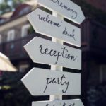 uvítací cedule na svatbu, svatební ukazatel