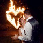 fire show na svatbu