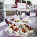 sweet bar, sladký koutek na svatbu, svatební dort