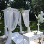 svatební altánek, praha
