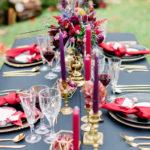 podzimní svatba, svatební dekorace